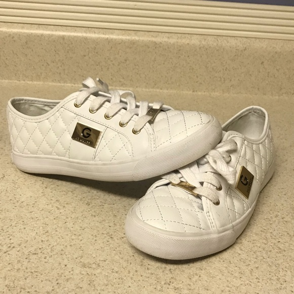 Guess Shoes   White Sneakers   Poshmark